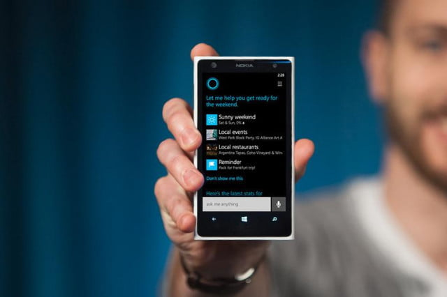 windows phone  update list cortana