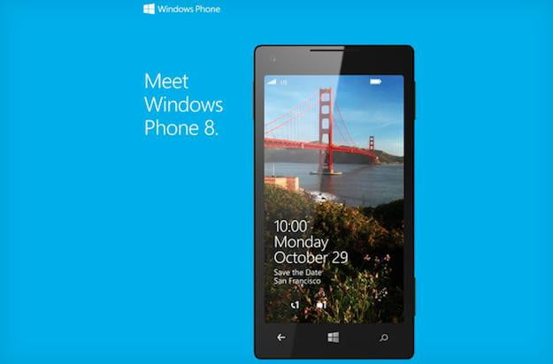Windows Phone 8 Event Invitation