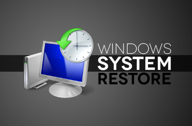 how to use windows system restore in  header copy