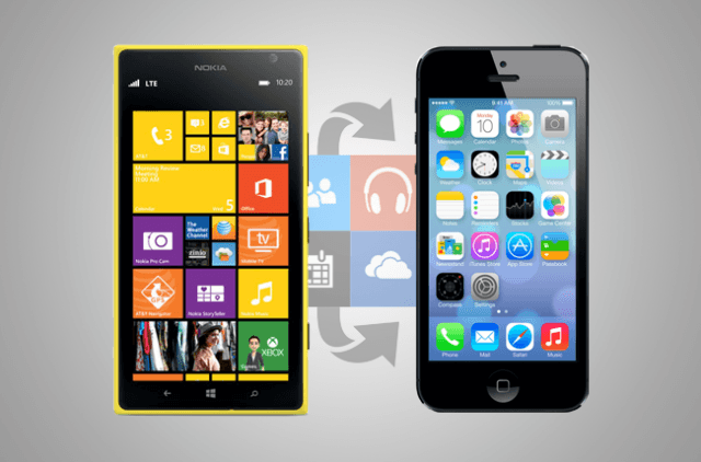 how to switch from windows phone iphone