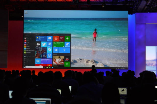 microsoft still on track for july release of windows  menu