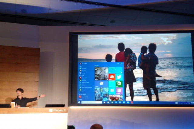 windows  will pack full screen start menu tablet mode