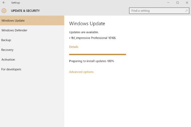 windows  insiders on the fast ring can now download build windowsbuild