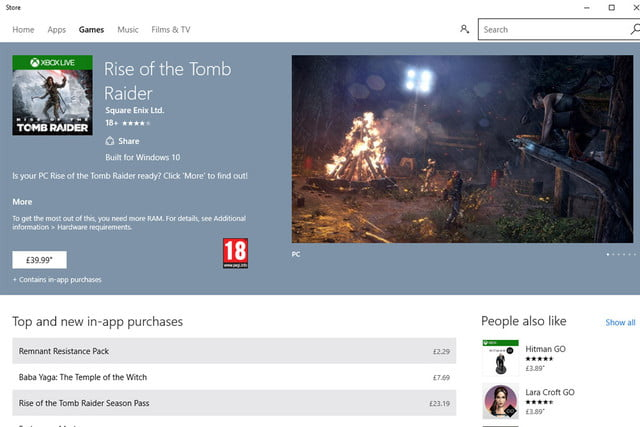 windows store issues with sli crossfire and vsync windowsstoretombraider
