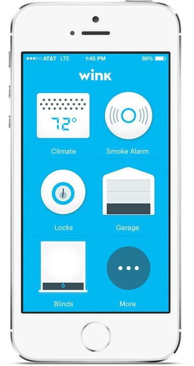 winks relay light switch works with uber fitbit and ifttt wink screen all