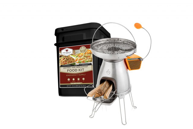 Wise-Company-Emergency-Food-Variety-Pack-and-BioLite-BaseCamp-Stove