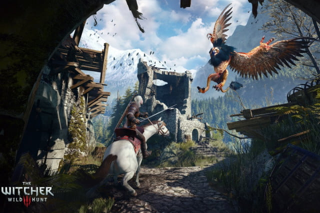 her story and witcher  top gdc awards header