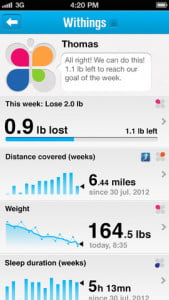 withings data