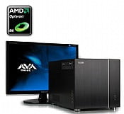 AVA Direct Workstation PC Quad Core Xeon 3400 SFF