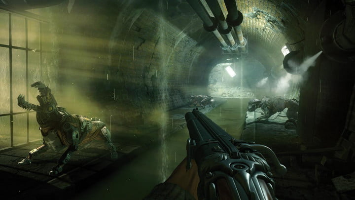wolfenstein the new order review sewers