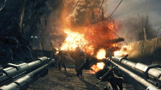 Wolfenstein The New Order hands on screenshot Trenches