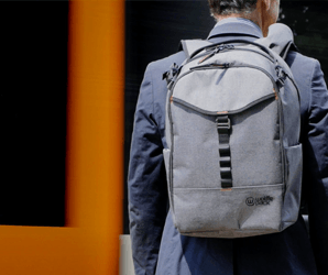 You don't have to take off this camera bag to grab your gear