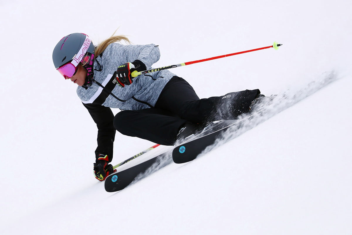 ski brands get serious about womens gear woman skiing