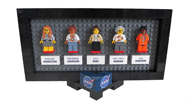 women of nasa minifig project