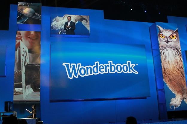 Wonderbook Book of Spells at Sonys E3 Conference