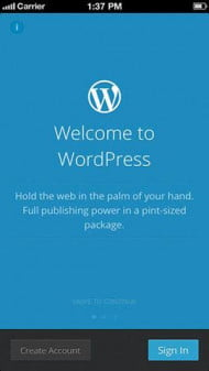 Wordpress-screenshot