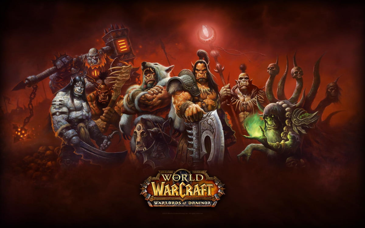 world warcraft brought ddos attack expansion launch of warlords draenor
