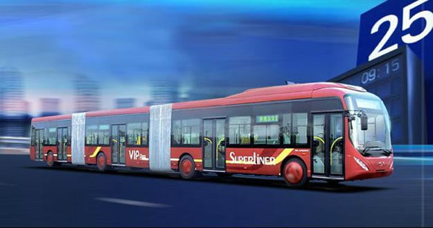World's-largest-bus-getting-ready-to-roll-out-in-China