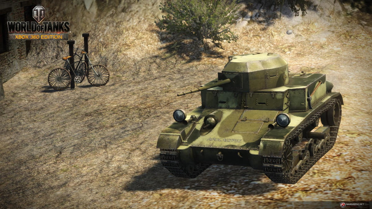 world tanks declares war xbox  next week wot edition screens usa t light image