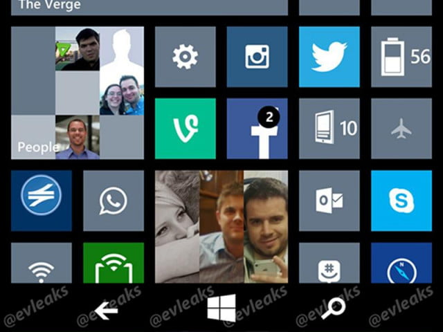 windows phone  adds software navigation buttons wp