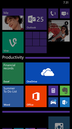 windows phone  update brings cortana uk china adds new features wp folder expanded