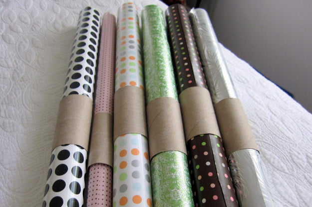 wrapping paper saver
