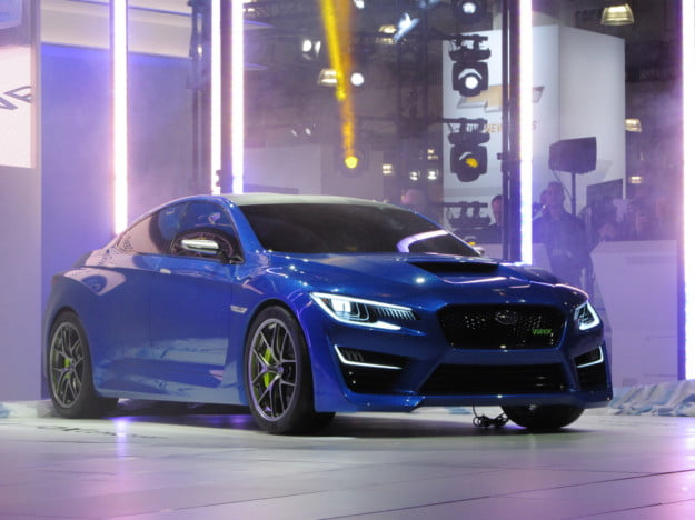 Subaru WRX concept front three quarter
