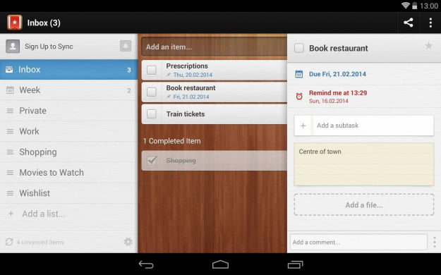 Wunderlist_Android_tablet_app_screenshot