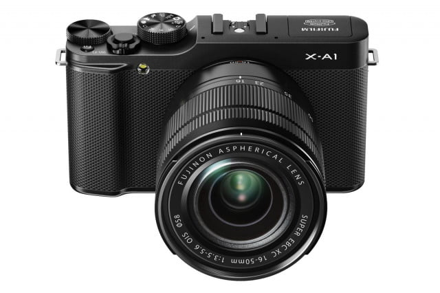 fujifilm introduces xa  x a black front high angle mm
