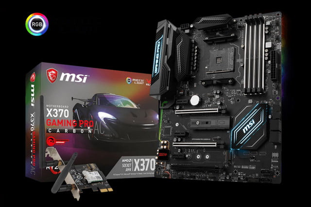 msi motherboards amd am  ryzen athlon x gaming pro carbon ac