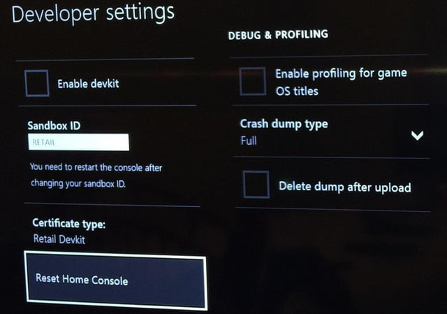 can access xbox one dev tools now shouldnt