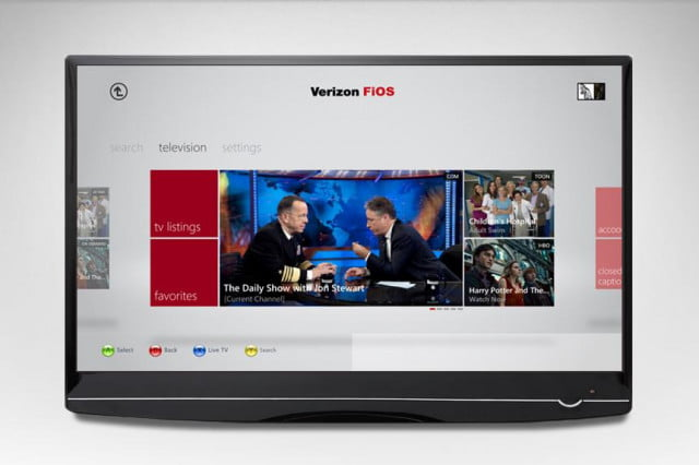 verizon to deliver wireless cable tv over  g lte network xbox fios mobile interface