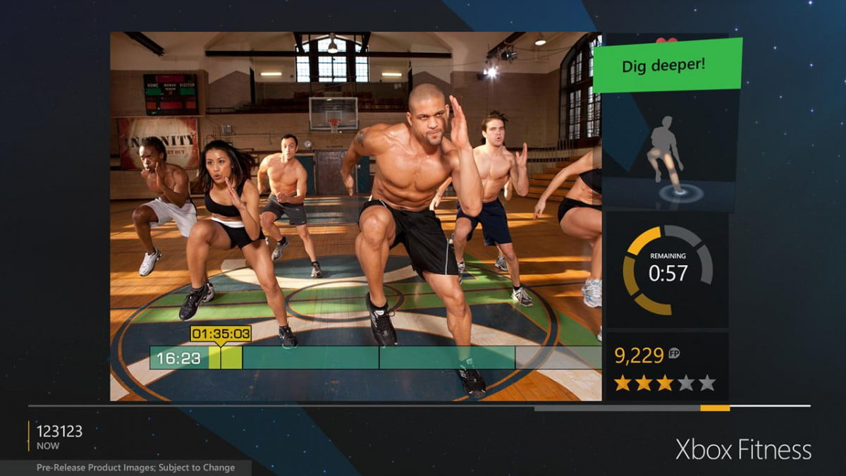 xbox fitness brings celebrity trainers to the one screen workout