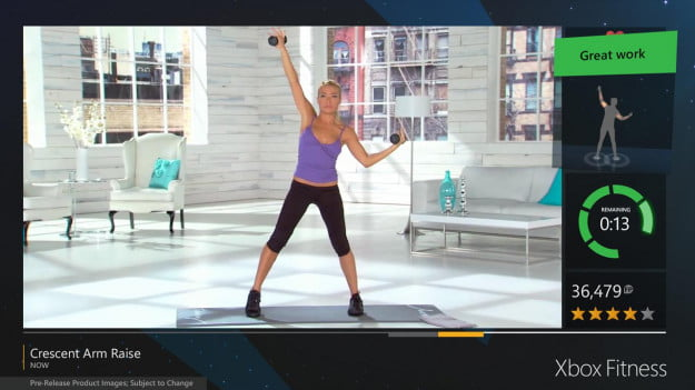 Xbox Fitness Tracy Anderson workout
