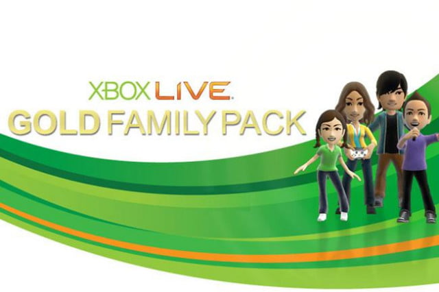 Xbox-Live-Family-Pack
