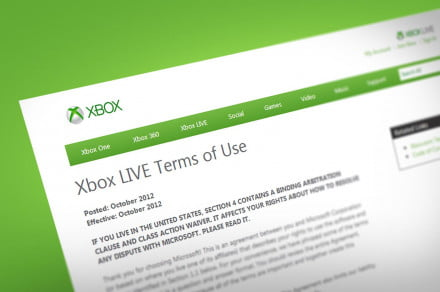 Xbox Live Terms and Conditions