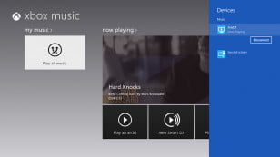 Xbox music playing to Aris windows 8 wireless speaker
