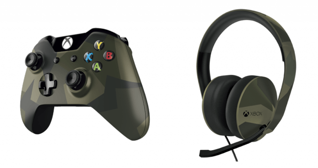 microsoft opens pre orders xbox one armed forces controller headset af and