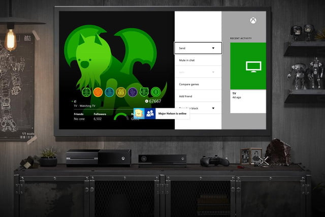 xbox one update adding friend notifications headset fixes week april