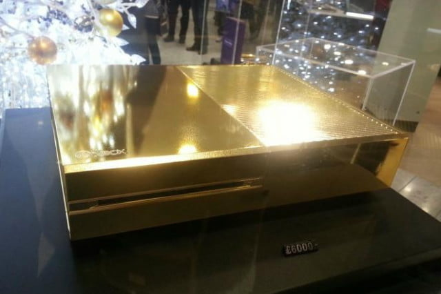 gold plated xbox one christmas anyone