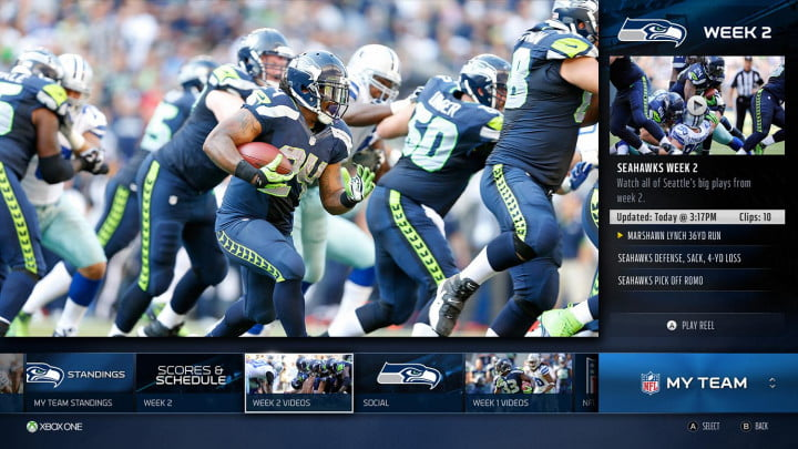 xbox one rewards cord keepers with live nfl games app myteam