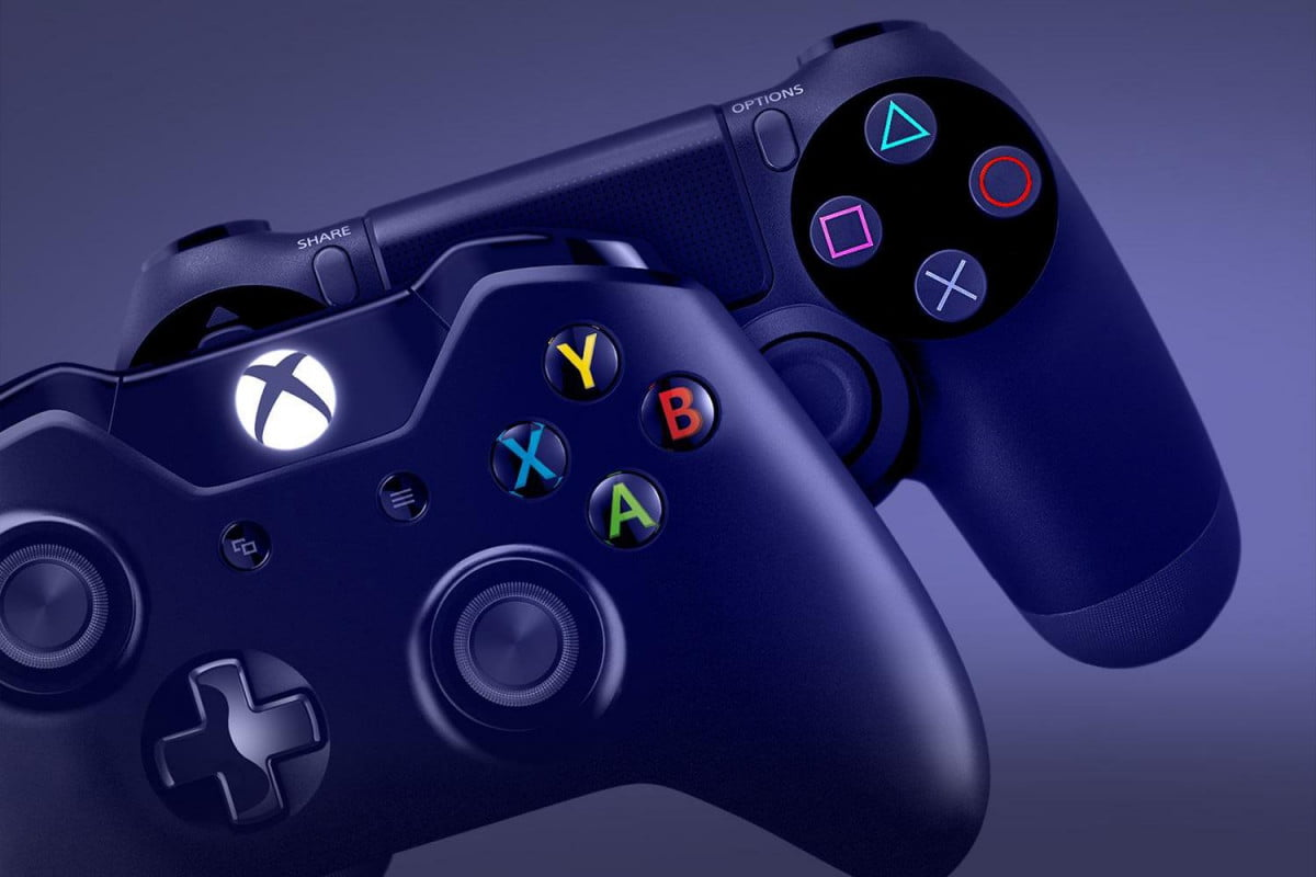 future gaming still belongs consoles xbox one playstation  controllers