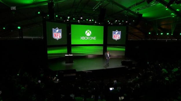 Xbox One reveal NFL