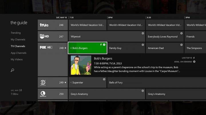 what microsofts xbox one will have to do take over the living room guide tv channels