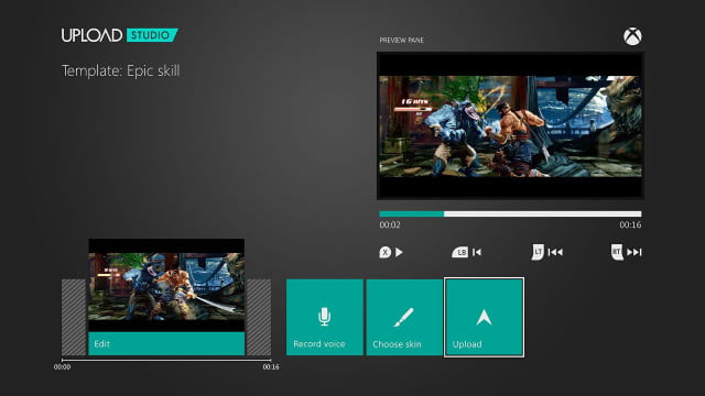 xbox one game capture allows for lengthy clips picture in commentary upload studio