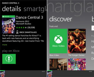 Xbox smartglass screenshot windows phone app