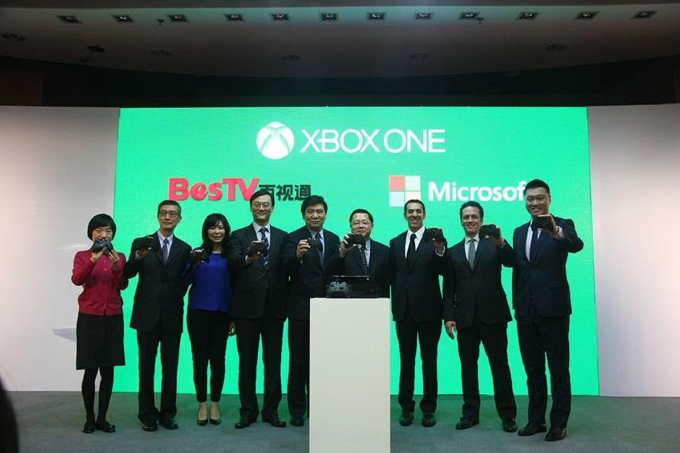 chinese console race begun xbox one launch china september xboxoneiscomingtochina web