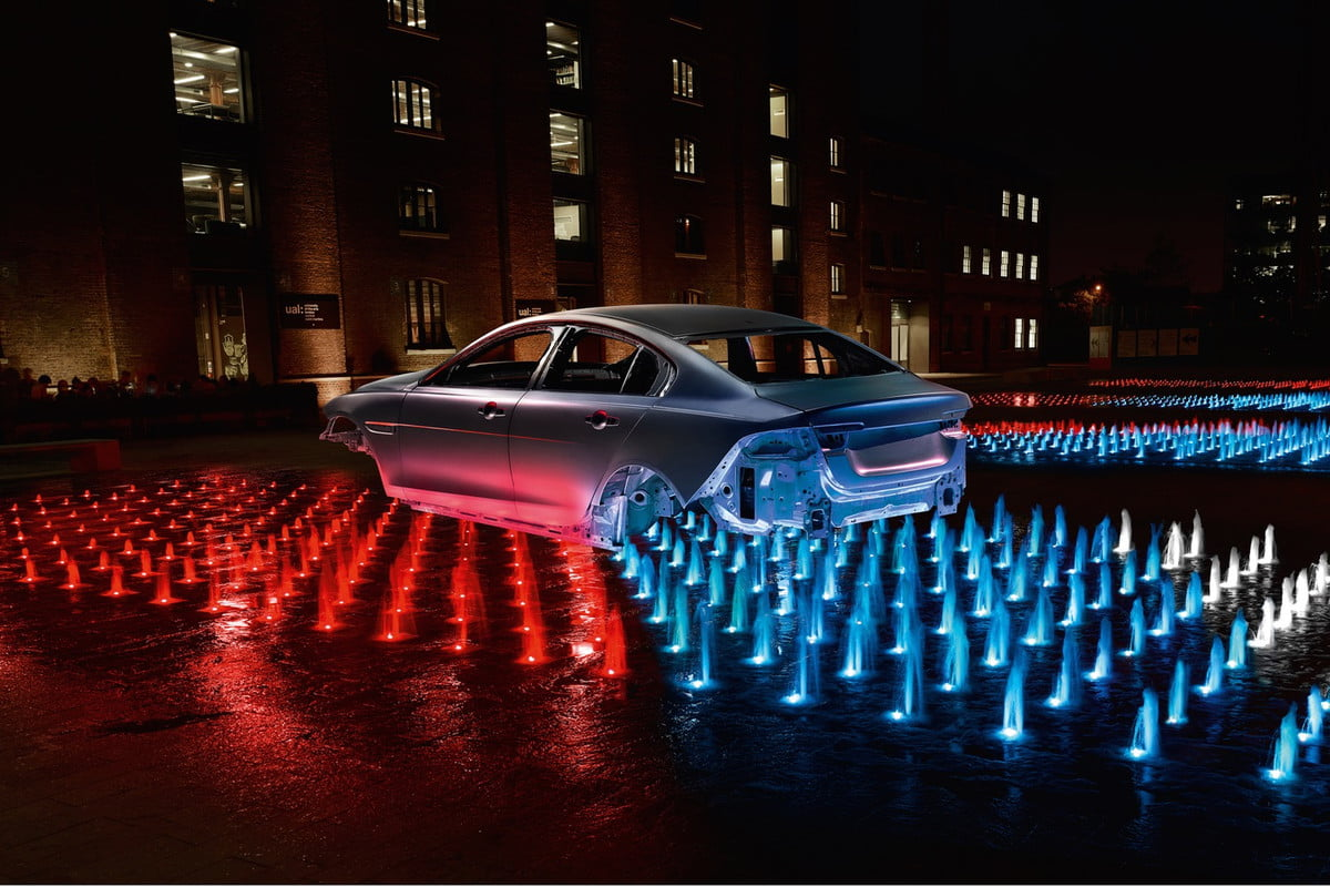ford jaguar recycled aluminum vehicles  xe