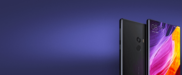 The insane looking Xiaomi Mi Mix smartphone is almost all screen