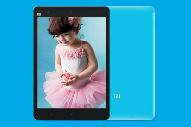 xiaomi low cost tablet to challenge apple samsung mi pad blue